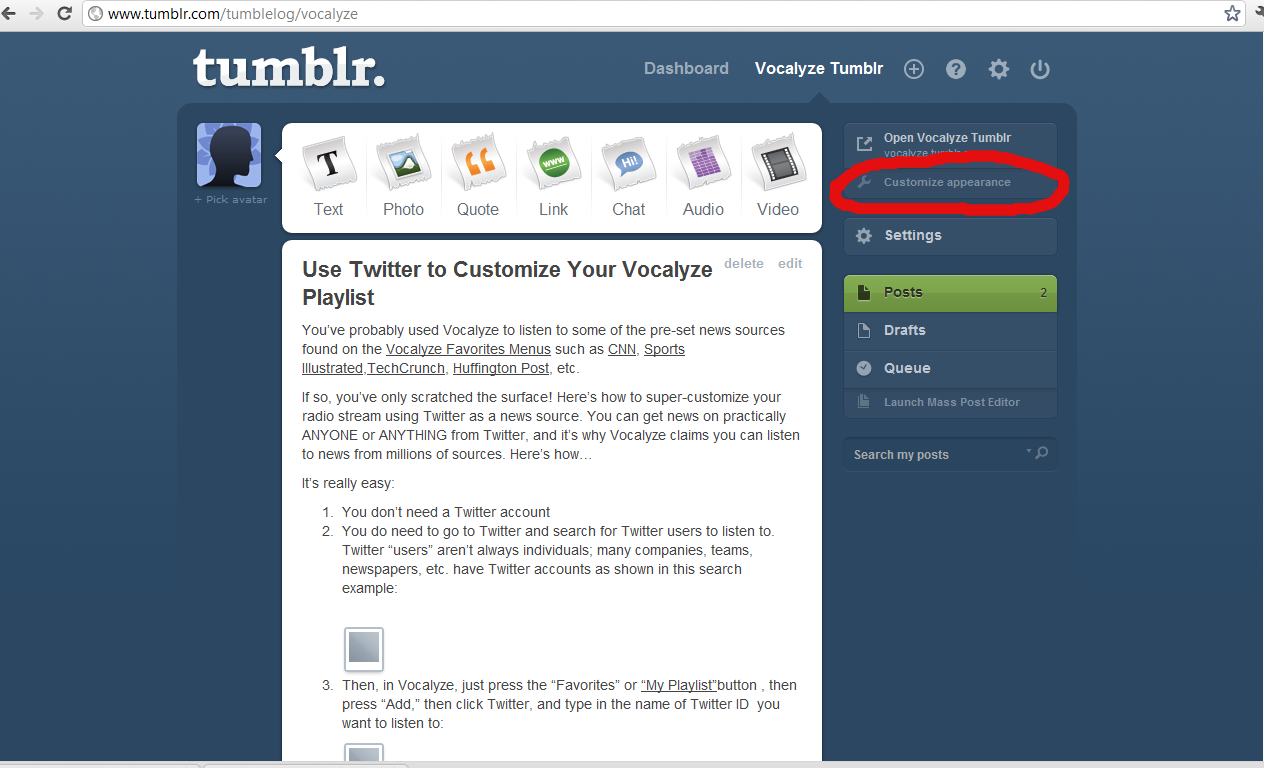 news tumblr will your blog